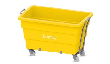 Industrial Yellow Laundry Carts