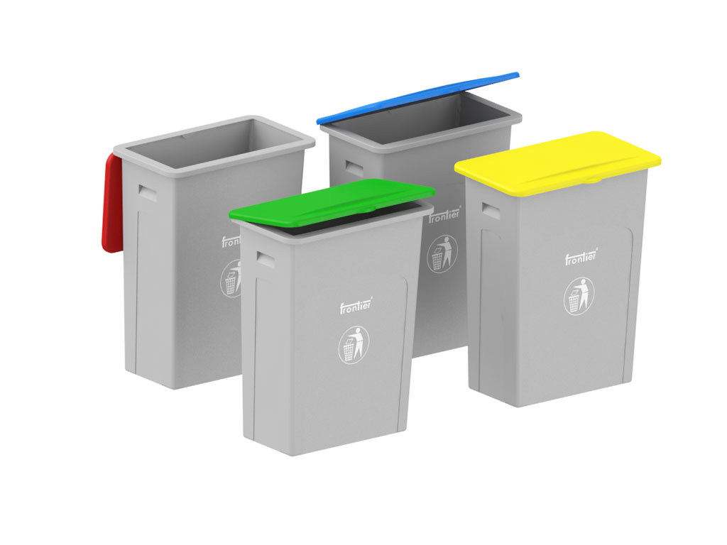 Heavy Duty Plastic Bins Slim Waste Bins Waste Bins