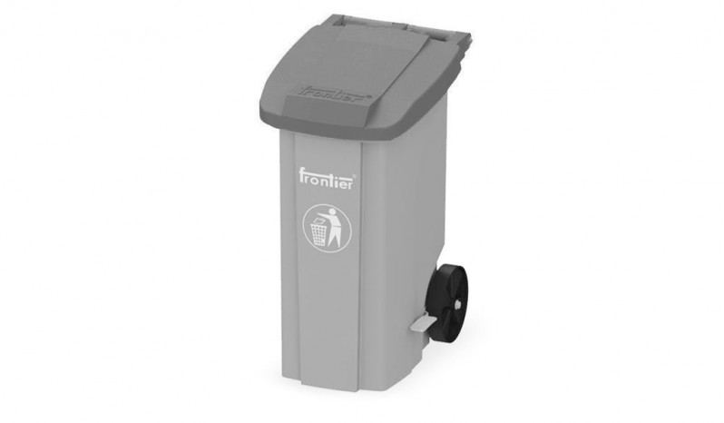 Pedal Operated Wheel Bins full