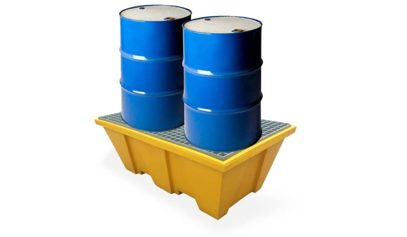 Spill container full