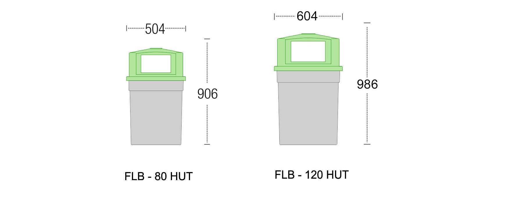 FLB - RET Outdoor bins