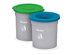 Round Kitchen Waste DustBins