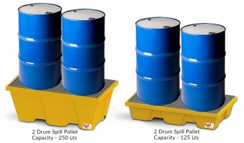 Drum Spill Pallet full