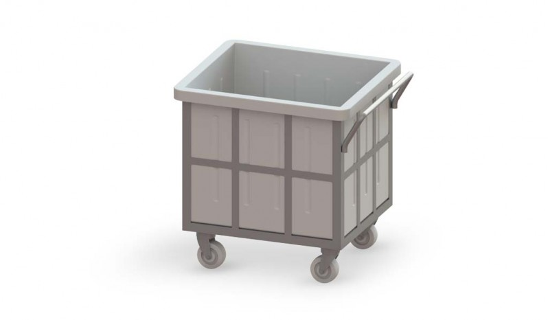 Rectangular Container full