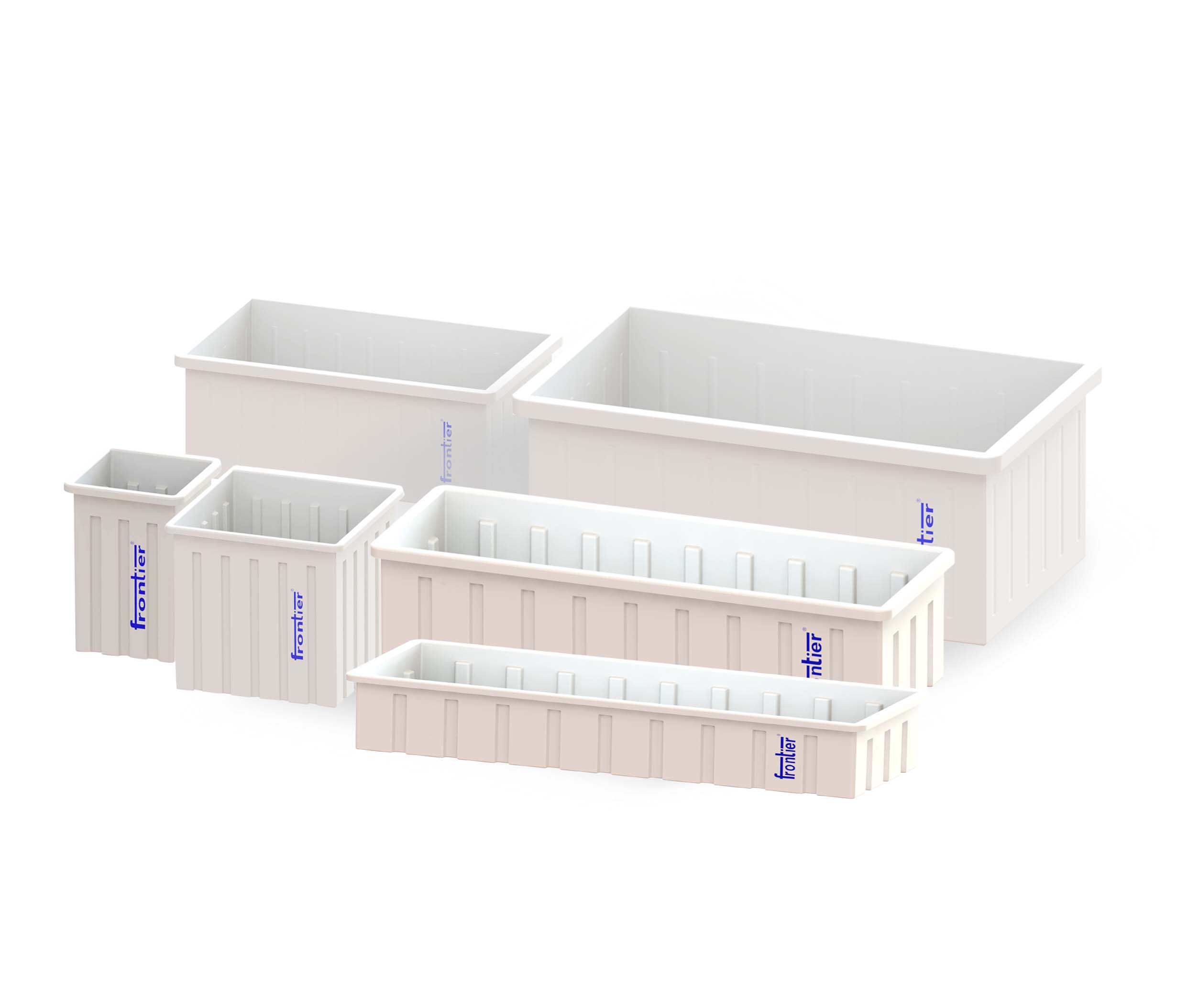Open Top rectangular Containers