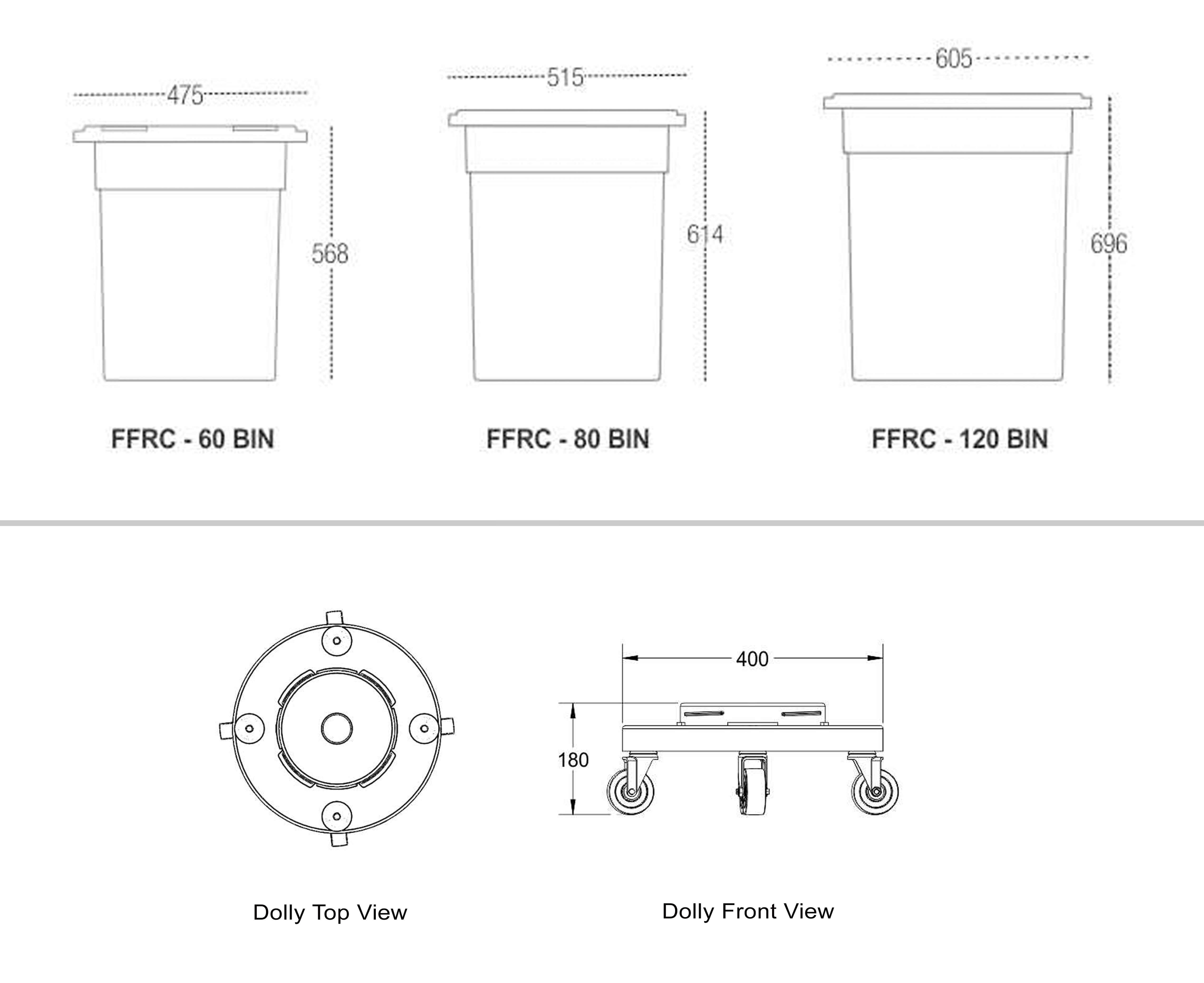 Food Storage Containers Description