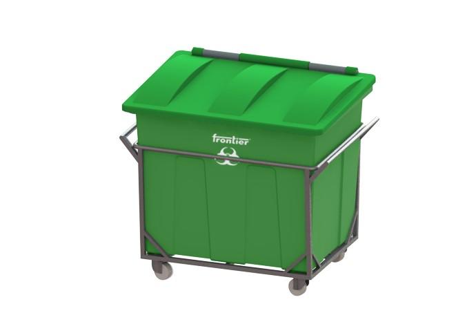 Large Waste Bins full