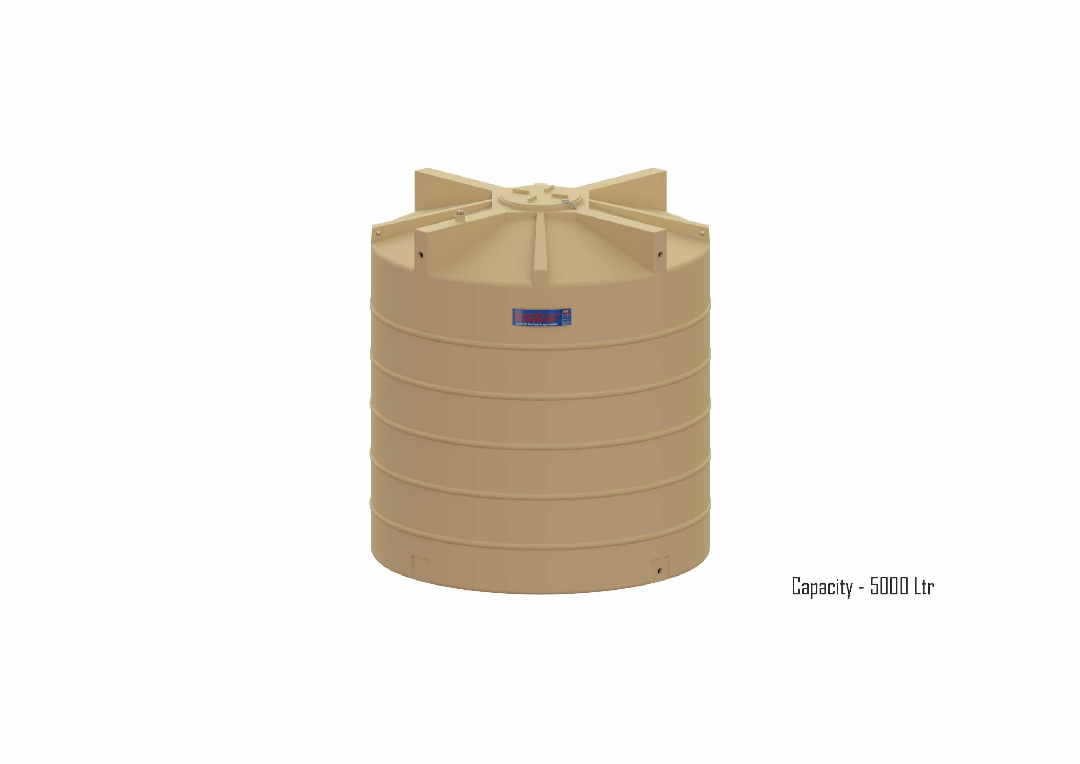 Dual foam Industrial Water Storage tank | 4 Layer Industrial