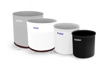 Open Top Cylindrical Containers
